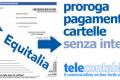 Ufficiale la Proroga cartelle Equitalia 2016